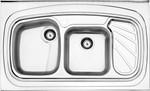 Picture of سینک استیل البرز پروانه روکار  مدل : 60/ 611