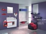 Picture of روشویی کابینت دار سرویس بهداشتی Azalea مدل Art002
