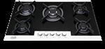 Picture of اجاق گاز 5 شعله T&D (تی اند دی)شیشه دور استیل مدل 102