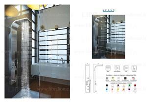 پنل دوش حمام Libra   مدل VENUS |