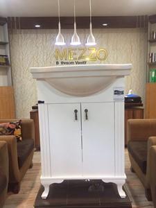روشویی کابینت دار مزو MEZZO مدل پايه دار كلاسيك 60  